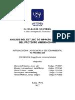 Investigación del E.I.A de la Minera Yanacocha
