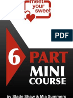 Meet Your Sweet Mini Course for Women