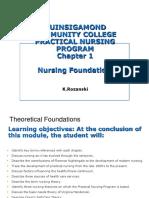 CH 1 Nursing Foundations Student  version.ppt