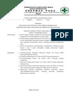 8.2.2 Ep 3 Sk Pelatihan Bagi Petugas Yang Diberi Kewenangan Menyediakan Obat Ttp Belum Memenuhi Persyaratan