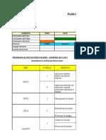 Plan de Trabajo Camposol 2009