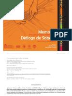 2010.Memorias Del Encuentro de Dialogo de Saberes-libre