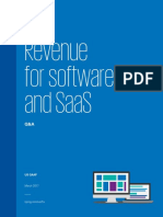 N57 Revenue for Software and SaaS