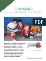 Liderazgo Pedagógico Hacia Una Escuela de Calidad
