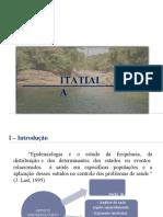 Epidemiologia - Município de Itatiaia  - Apresentação.pptx