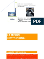 1.3 Mision - Vision