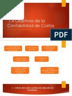 1.4 Objetivos de La Contabilidad de Costos