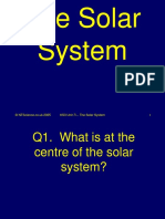 7l Solar System Science Quiz