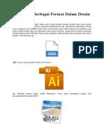 Macam Format Gambar Dalam Desain Grafis