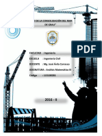 Informe Aplicacion de Derivadas Ing Civil