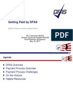 Getting Paid by DFAS