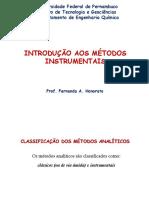 Introdução a Métodos Instrumentais