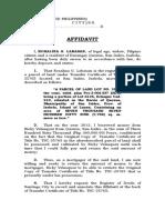 Adverse Claim Labasan