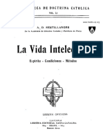 La Vida Intelectual Por Fr a-D Sertillanges OP