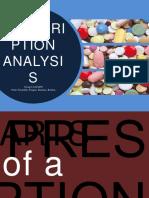 Prescription Analysis