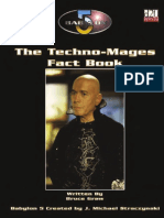 Babylon 5 Rpg - The Techno-Mages