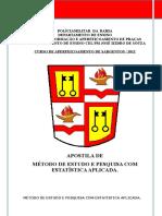 Apostila  - Método de Estudo e Pesquisa Com Estatística Aplicada