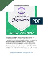 Como Cuidar de Orquídeas o Manual Completo