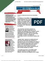 Cuba - Contra la guerra y el terrorismo mediático. Noticias, debate, opinion
