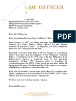 Letter to PDEA - Diaz