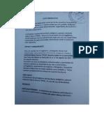 Resolución del encuentro de corregidores del Tipnis en San Pablo