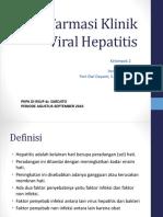 Farmasi Klinik Viral Hepatitis