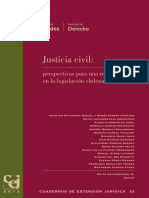 Cuaderno de Extension Juridica N23 Justicia Civil
