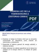 2.3 Primera Ley TD-Sistemas Cerrados