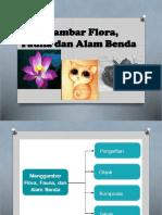 Menggambar Flora Fauna Dan Alam Benda