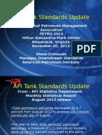 Steve Cri Maud Oap i Tank Standards Update