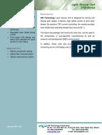 Light Source Unit Data Sheet__DFB_v2.0