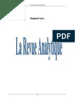 92808485 Rapport de Stage Revue Analytique