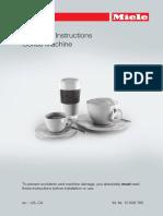 Miele Coffee System Manual CM 6310