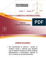 Relaciones multilaterales y regionales