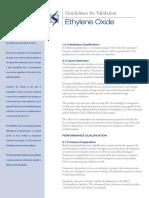 Guidelines for Validation Ethylene Oxide