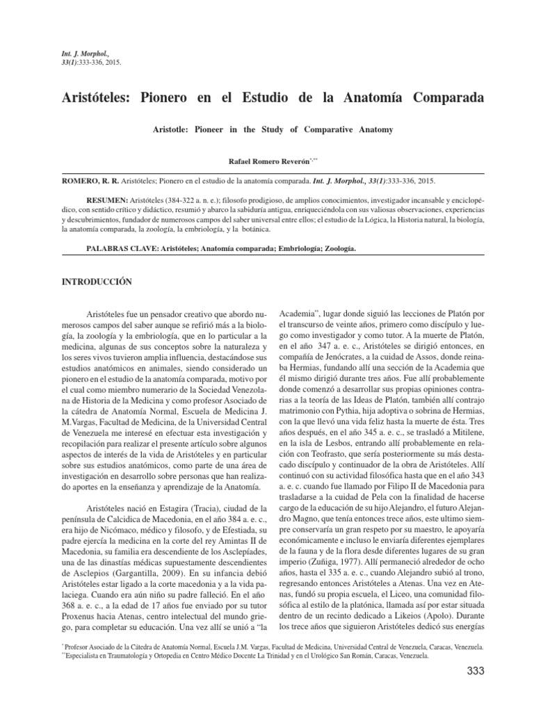 Aristóteles pionero en el estudio de la anatomía comparada.pdf