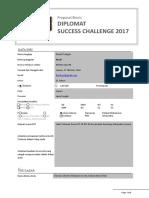 Proposal Bisnis DSC 2017