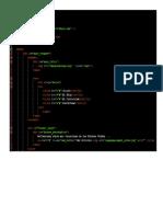 Estructura de La Pagina