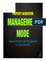 Suspect Property Lead Management - Management Mode 01032013