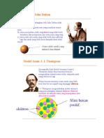 Model Atom John Dalton