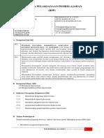 RPP konsep dasar keperawatan