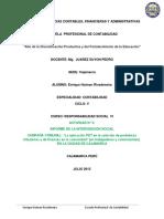 Informe de La Intervención Social Producto III