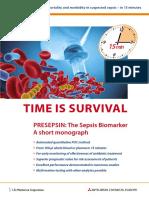 PROSPEKT ENG Presepsin Time is Survival ID 6153