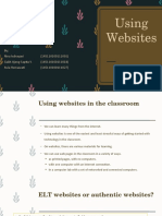 Using Websites