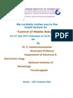 Guest Lecture Invitation
