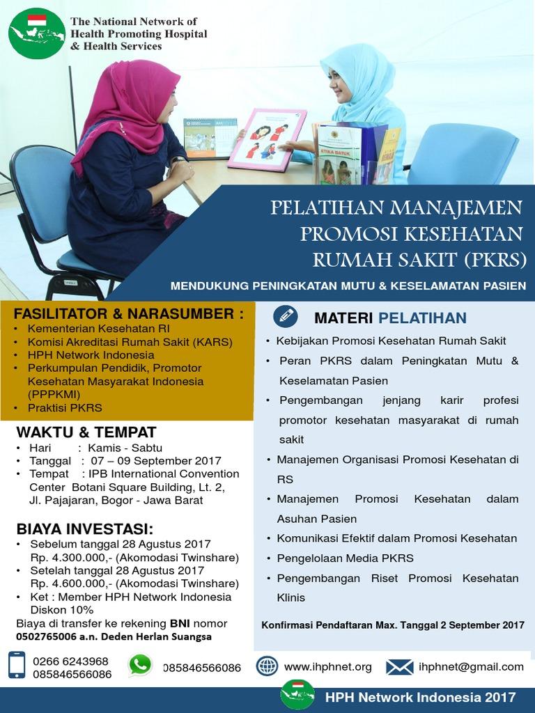 Flyer- Pelatihan PKRS