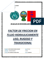 Factor de Friccion