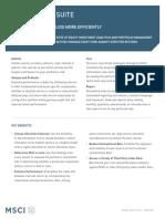 Barra Aegis FactSheet