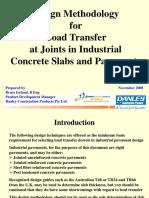 4 Ireland - Design Methodology for Load Transfer at Joints - Nov 08