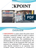 Checkpoint Ppt Presentation